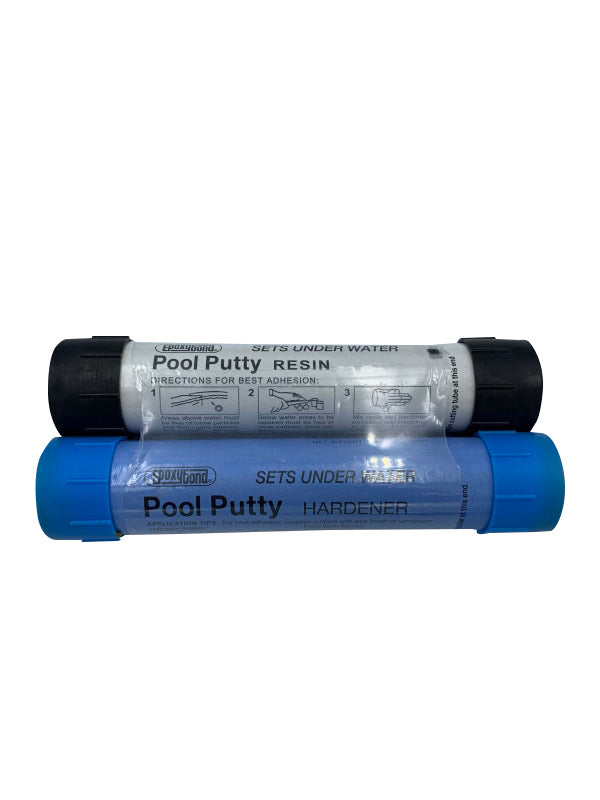 Atlas Epoxybond 2 Part Swimming Pool Putty Repair Fix Leaks Under Water (Black) - Epoxy - ATLAS MINERALS & CHEMICALS INC - The Pool Supply Warehouse