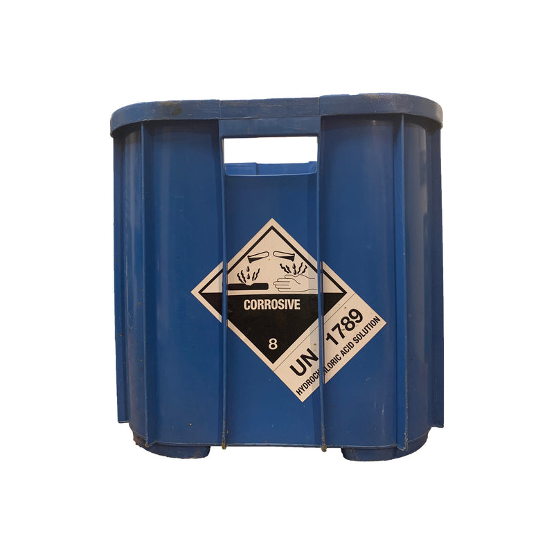 Hydrochloric Acid Carry All Crate-The Pool Supply Warehouse