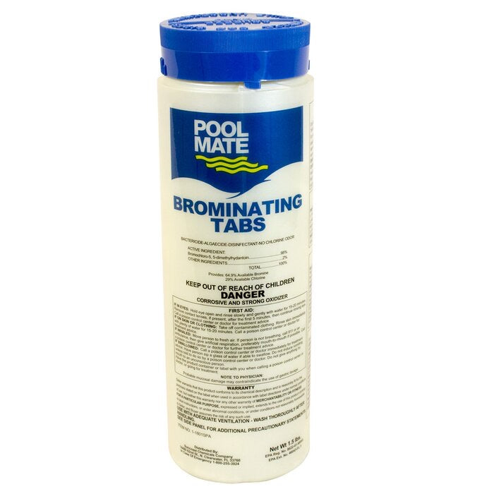 Pool Mate Bromine Tabs - Bromine Tabs - SUNCOAST CHEMICALS COMPANY - The Pool Supply Warehouse