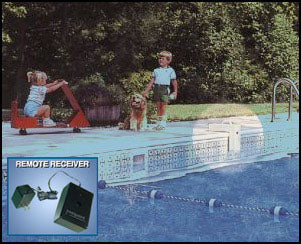 Inground Pool Alarm with Remote Receiver-The Pool Supply Warehouse