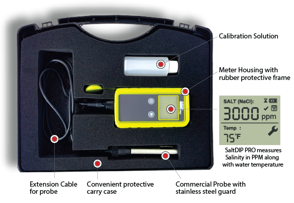 Salt Dip Pro - Digital Salt Tester - SOLAXX - The Pool Supply Warehouse