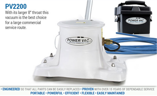 PV2200 Power Vac - 60' Cord-The Pool Supply Warehouse