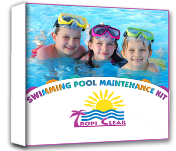 TropiClear®Swimming Pool Maintenance Kit-The Pool Supply Warehouse
