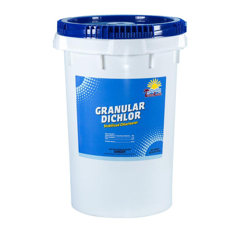TropiClear® Granular Dichlor 50LB-The Pool Supply Warehouse