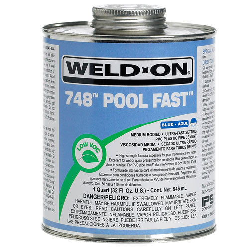 Weld-On® 748™ Pool Fast™ Quart