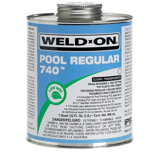 Weld-On® 740™ Pool Regular Quart