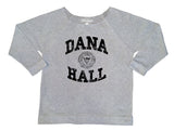 Grey CAU Women's Dorm Life Off The Shoulder 3/4 Sleeve Shirt