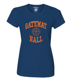 Navy Blue Trojans Women's Dorm Life T-Shirt