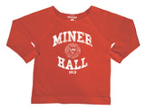 Crimson & White Women's Miner Hall Dorm Life T-Shirt