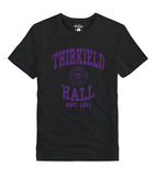 Purple & Gold Men's Thirkield Hall Dorm Life T-Shirt