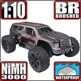 Redcat Racing Blackout XTE Truck 1/10 Scale Brushed Electric (With 2.4GHz Remote Control)