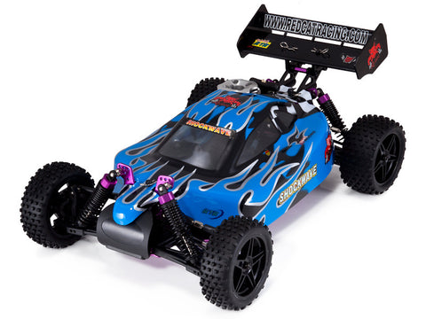 Redcat Racing Shockwave Buggy 1/10 Scale Nitro (With 2.4GHz Remote Control) from Redcat Racing available at RC Car PLUS - 1