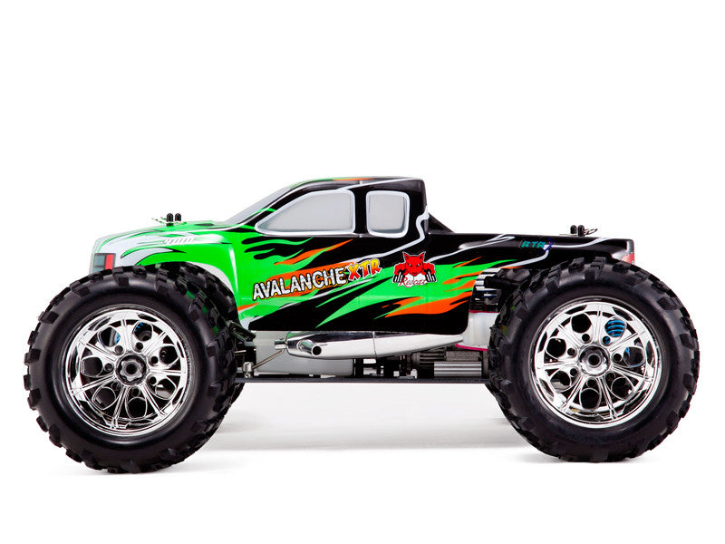 Redcat Racing Avalanche XTR Truck 1/8 Scale Nitro (With 2.4GHz Remote Control) from Redcat Racing available at RC Car PLUS - 1
