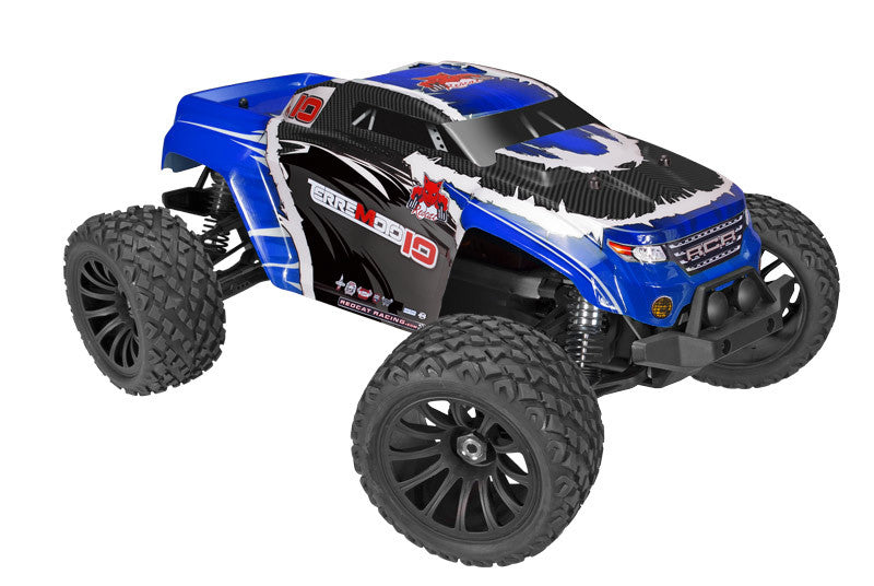 Redcat Racing Terremoto-10 V2 Truck 1/10 Scale Brushless Electric (With 2.4GHz Remote Control) from Redcat Racing available at RC Car PLUS - 1