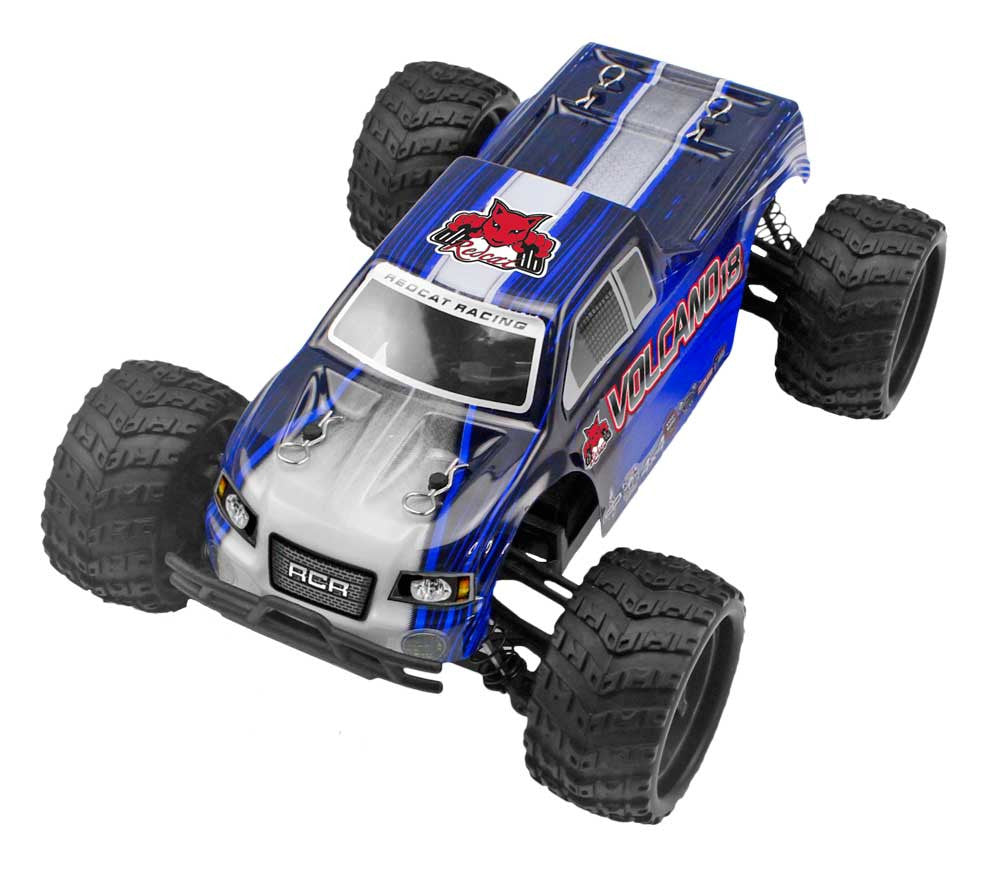 Redcat Racing Volcano-18 V2 1/18 Scale Electric Truck from Redcat Racing available at RC Car PLUS - 2