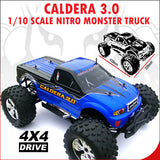 Redcat Racing Caldera 3.0 Truck 1/10 Scale Nitro 2-Speed (With 2.4GHz Remote Control) from Redcat Racing available at RC Car PLUS - 7