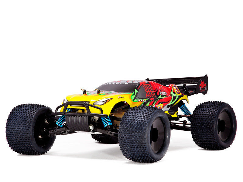 Redcat Racing Monsoon XTR Truggy 1/8 Scale Nitro (With 2.4GHz Remote Control) from Redcat Racing available at RC Car PLUS - 1