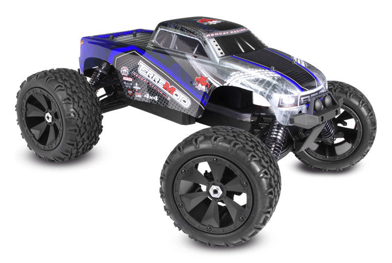 Terremoto V2 Monster Truck 1/8 Scale Brushless Electric (With 2.4GHz Remote Control) ARTR from Redcat Racing available at RC Car PLUS - 1