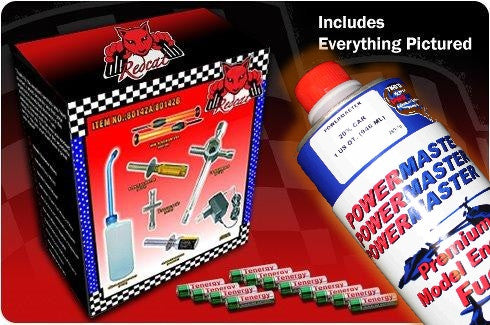Redcat Racing - Part# Ultra-Nitro-Starter-Pack