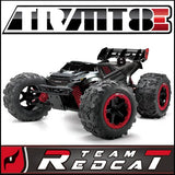 Team Redcat TR-MT8E  Monster Truck 1/8 Scale Brushless Electric (With 2.4GHz Remote Control) ARTR from Redcat Racing available at RC Car PLUS - 2