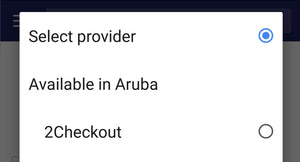 Shopify Payment Gateways Aruba set up services.