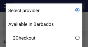 Shopify Payment Gateways Barbados set up services.