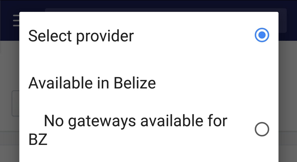 Shopify Payment Gateways Belize set up services.