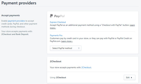 2Checkout Payment gateway set up service 1