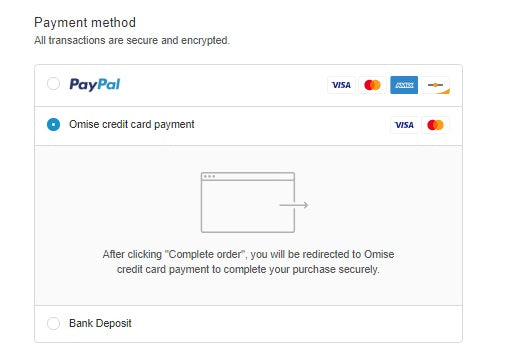 Omise Payment gateway set up service 7