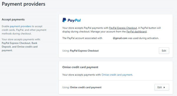 Omise Payment gateway set up service 9