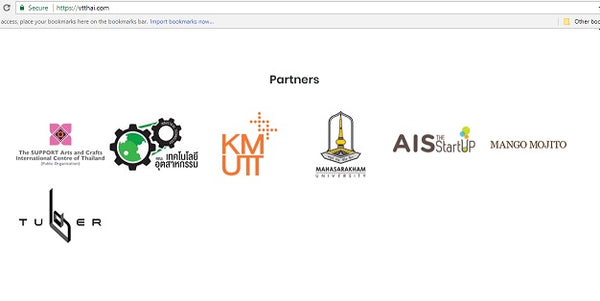Partners logos development