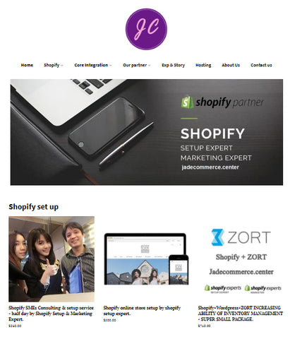 Shopify Expert Web Design & Development in Bangkok Thailand.