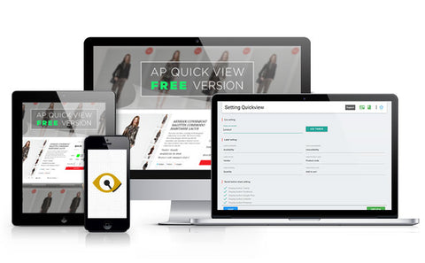 AP QUICK VIEW SHOPIFY APPS - JCappsSetup services.