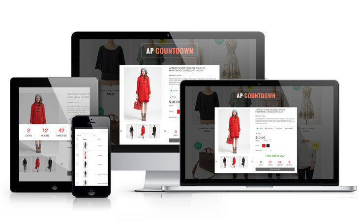AP COUNTDOWN SHOPIFY APPS - JCappsSetup services.