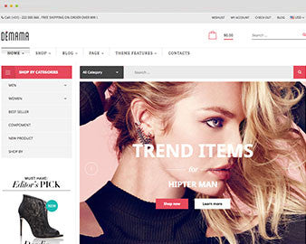 Ap Demama Shopify Theme