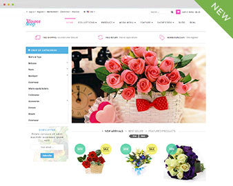 Ap Flower Shop Shopify Theme