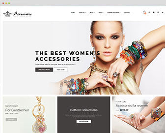Ap Accessories Shopify Theme - JCthemeSetup services.