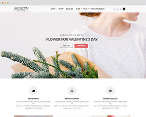 Ap So Pretty Flower Shopify theme