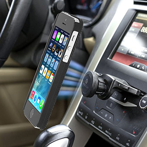 Magnetic Cell Phone Mount >> Wizgear Universal Cd Slot Magnetic Car Mount Holder For Cell Phones And Mini Tablets With Fast Swift Snaptm Technology Magnetic Cell Phone Mount