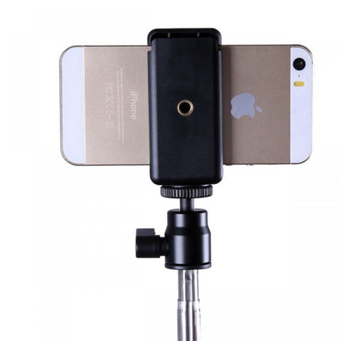Wizgear Universal Smartphone Holder Tripod Adapter for iPhone 6 Plus iPhone 6 5 5C 5S Samsung Galaxy S5 S4 Note 4 Nexus 5 LG G3