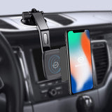 Magnetic Mount, WizGear Universal Dashboard Curved Magnetic Phone Car Mount Holder for Cell Phones and Mini Tablets with Fast Swift-snap Technology, Magnetic Cell Phone Mount