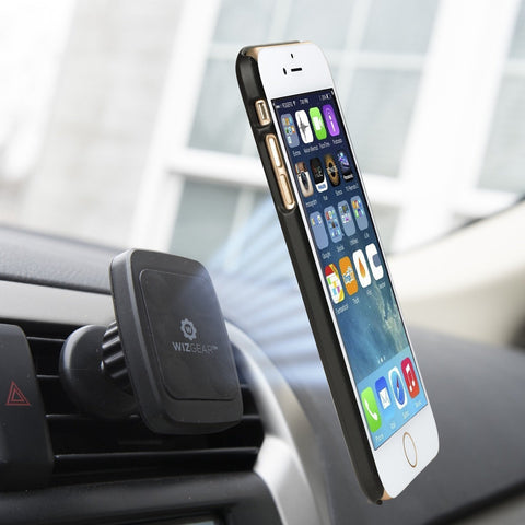 for Cell Phones with Fast Swift-snap Technology WizGear Universal Twist-Lock Air Vent Magnetic Car Mount Holder Magnetic Mount