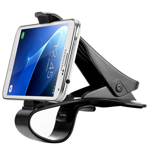 WizGear Universal Front View Clip Holder Design Car Phone Mount Holder, for all Cell Phones Car Mount for All Smartphone (New Front Clip Design)