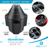 Cup Holder Phone Mount, WizGear Car Cup Holder Phone Mount Adjustable Automobile Cup Holder Smart Phone Cradle Car Mount