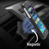 WizGear Star shape Universal Air Vent Magnetic Car Mount Holder, with Fast Swift-Snap (TM) Technology for All Smartphones and Mini Tablets