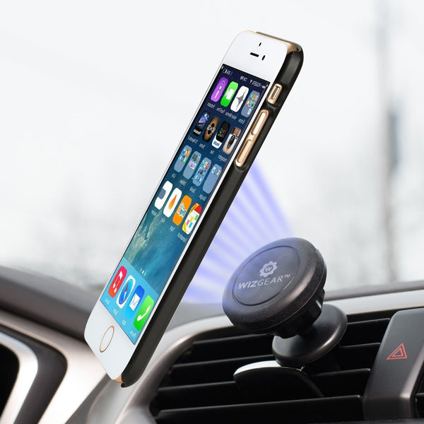 Magnetic Cell Phone Mount >> WizGear Universal Air Vent Magnetic Car Mount Holder, for Cell Phones – WizGear.com