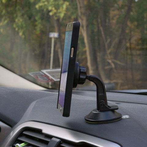 Universal Magnetic Car Mount Holder, Windshield Mount and Dashboard Mount Holder for Cell Phones with Fast Swift-snap Technology