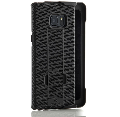 WizGear Shell Holster Combo Case for Samsung Galaxy Note 7 Holster, With Kick-Stand and Belt Clip