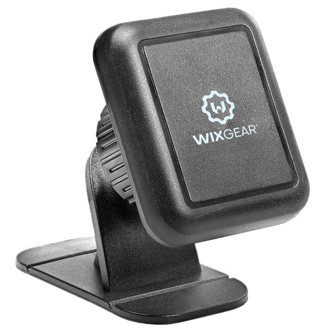 WixGear Universal Stick On Dashboard Magnetic Car Mount Holder, for Cell Phones with Fast Swift-snap Technology