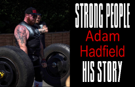 Adam Hadfield Strong People Story - Clean and Pressed